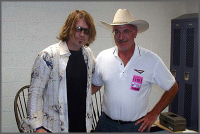 Billy Ray Cyrus and Herb Sudzin