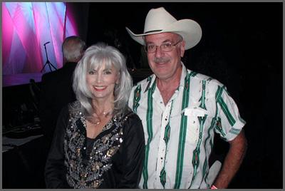 Emmylou Harris and Herb Sudzin