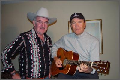 Herb Sudzin And Glen Campbell