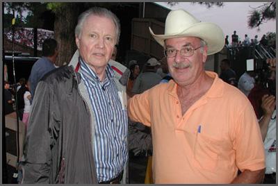 Jon Voight and Herb Sudzin