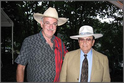 Herb Sudzin and Bobby Osborne