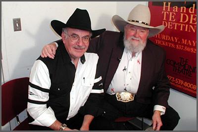 Herb Sudzin and Charlie Daniels