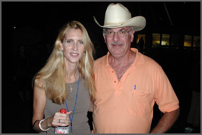 Ann Coulter and Herb Sudzin