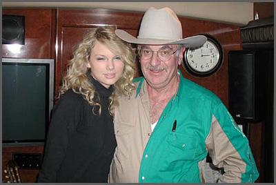 Taylor Swift and Herb Sudzin