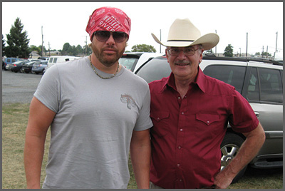 Toby Keith and Herb Sudzin