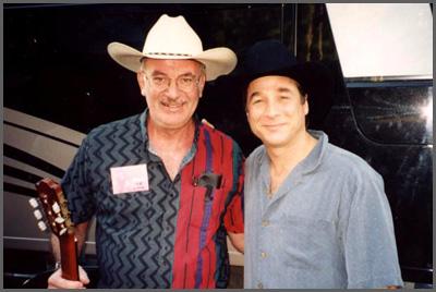 Herb Sudzin and Clint Black