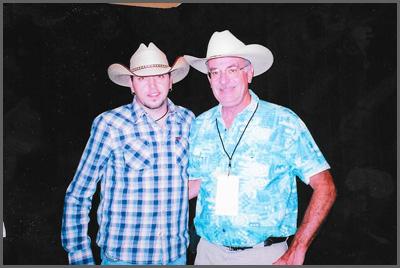 Jason Aldean and Herb Sudzin