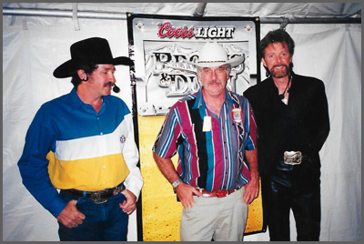 Brooks and Dunn with Herb Sudzin