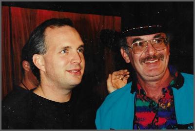 Garth Brooks and Herb Sudzin