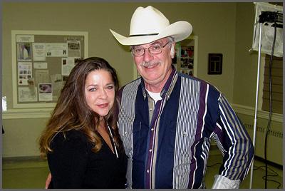 Carlene Carter and Herb Sudzin