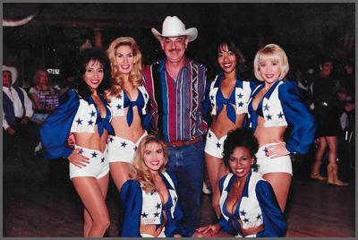 Herb Sudzin and the Dallas Cowboys Cheerleaders
