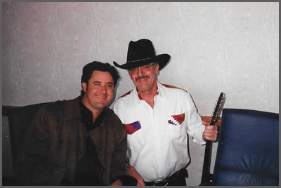 Vince Gill and Herb Sudzin