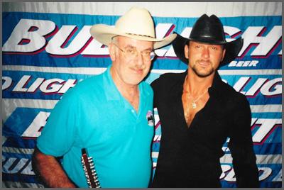 Herb Sudzin and Tim McGraw