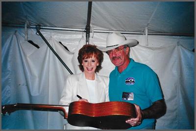 Reba McEntire and Herb Sudzin
