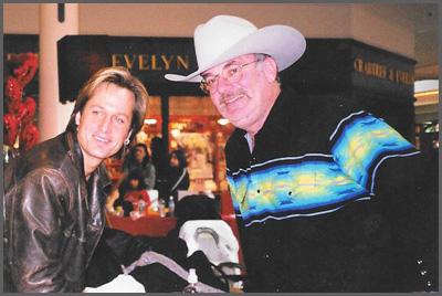 Keith Urban and Herb Sudzin