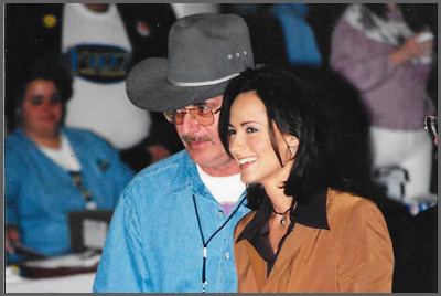 Herb Sudzin and Chely Wright
