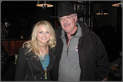 Miranda Lambert and Herb Sudzin