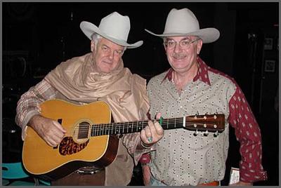 Peter Rowan and Herb Sudzin