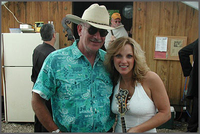 Herb Sudzin and Rhonda Vincent